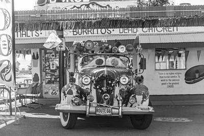 Photograph - Burrito On Route 66 by John McGraw