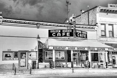 Photograph - Burro Cafe - Leadville by David Bearden