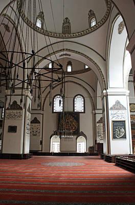 Caligraphy Photograph - Bursa Mosque by Angela Siener