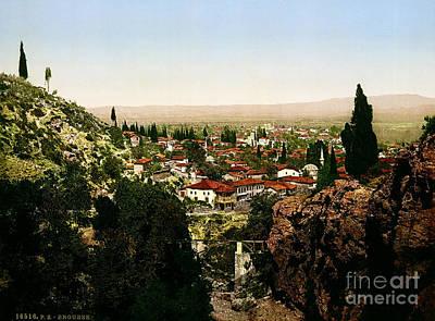 Painting - Bursa Turkey by Celestial Images