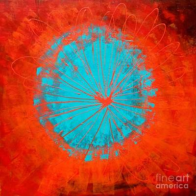 Painting - Burst by Elaine Callahan