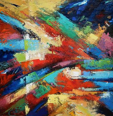 Painting - Burst by Gary Coleman