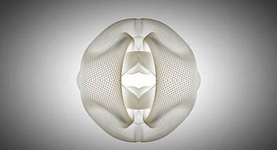 Digital Art - Burst Of Form by Ryan Darling