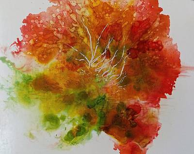 Painting - Burst Of Nature by Carolyn Rosenberger