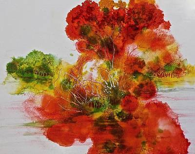 Painting - Burst Of Nature, II by Carolyn Rosenberger