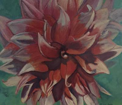 Painting - Burst Of Petals  by Gloria Smith