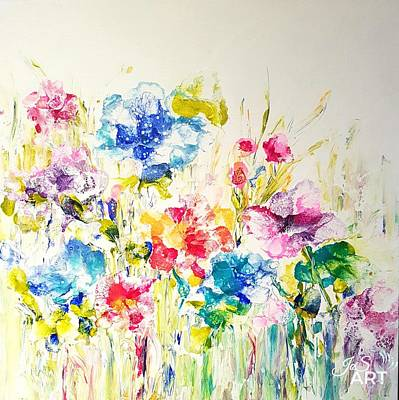 Painting - Burst Of Spring  by Joanne Smoley