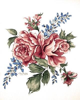 Bursting Blooms Art Print by Patty Muchka