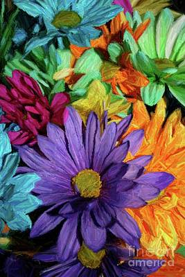 Bursting Colors Art Print by John W Smith III