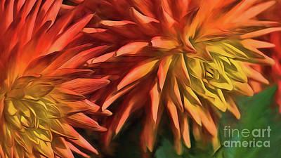 Digital Art - Bursting With Color by Mary Lou Chmura