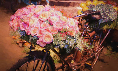 Bursting With Flowers Art Print