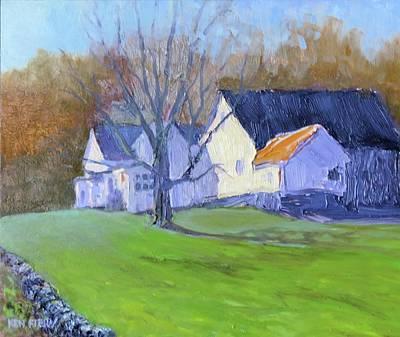 Painting - Burton Farm by Ken Fiery