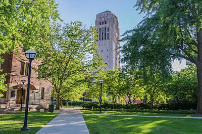 Burton Memorial Tower 1 University Of Michigan  Art Print