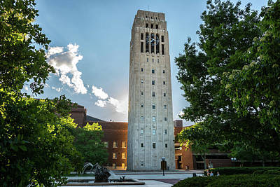 Photograph - Burton Memorial Tower 2 University Of Michigan  by Pravin Sitaraman