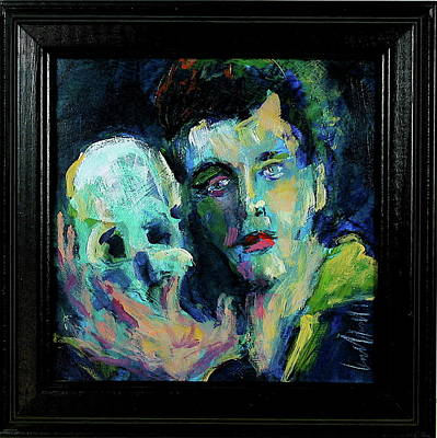 Painting - Burton's Hamlet by Les Leffingwell