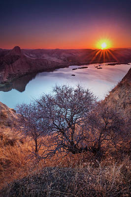 Photograph - Burujon At Dawn by Hernan Bua