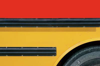 Photograph - Bus Abstract 1 by Nikolyn McDonald