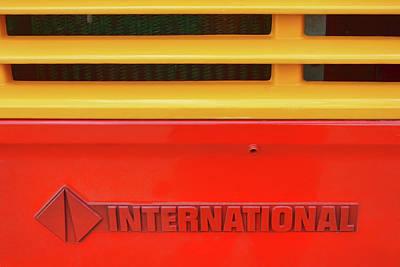 Photograph - Bus Abstract 2 by Nikolyn McDonald