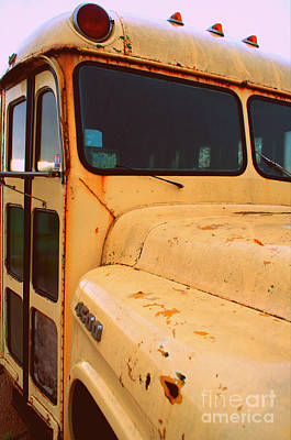 Photograph - Bus by Anjanette Douglas