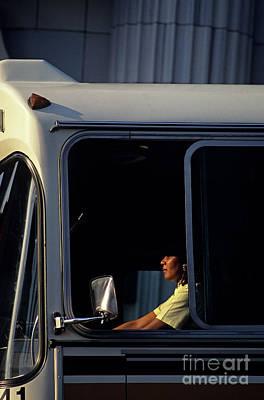 Photograph - Bus Driver by Jim Corwin