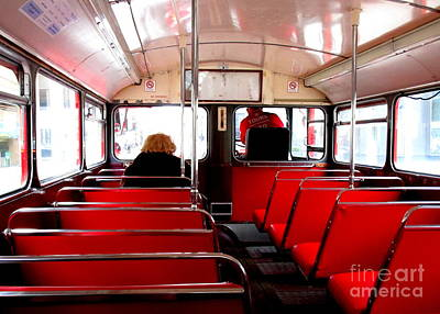 Bus For One Art Print