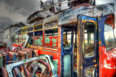 Photograph - Bus Ride by Craig Incardone