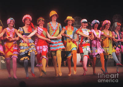 Tap Dance Photograph - Busby Berkeley Dancing Girls In No No Nanette by The Harrington Collection