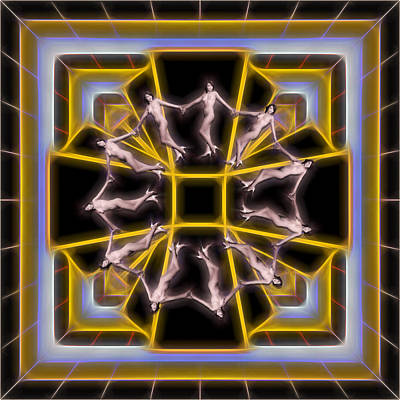 Digital Art - Busby Berkeley Redux by John Haldane