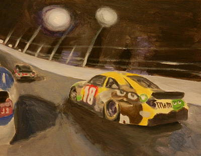 Nascar Painting - Busch In The Bud Shootout by James Lopez