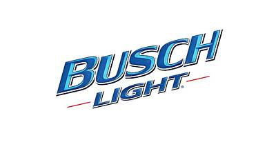 Sky Drawing - Busch Light by Lissa Adam