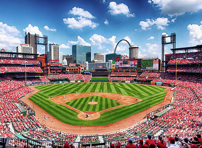 Busch Stadium Section 249 Art Print