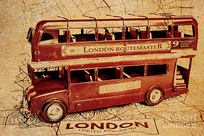 Bus Wall Art - Photograph - Buses Of Vintage England by Jorgo Photography - Wall Art Gallery