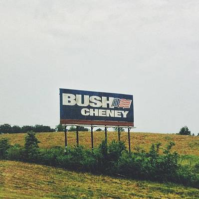 Bush Cheney 2011 Art Print