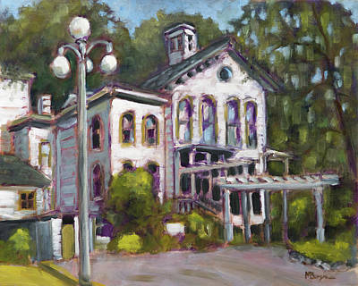 Painting - Bush House, Salem,or by Mike Bergen