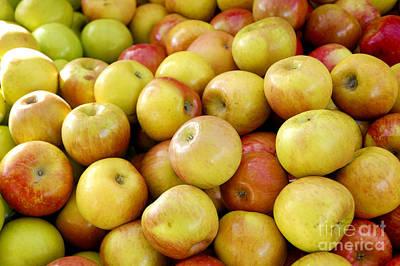 Bushel Of Apples Art Print by Micah May