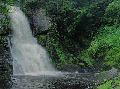 Photograph - Bushkill Falls by Jeff Heimlich