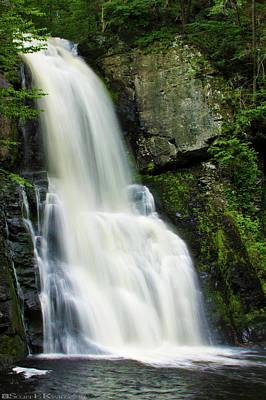 Personalized Name License Plates - Bushkill Falls Waterfall by Scott Kwiecinski