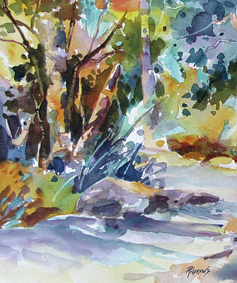 Painting - Bushland Colors by Rae Andrews