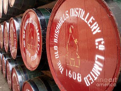 Rose - Bushmills Barrels  by Paul Finnegan