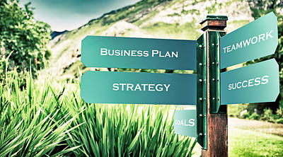 Photograph - Business And Success Concept by Anna Om