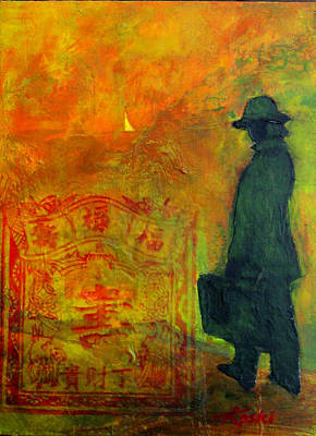 Business In China Art Print by Beverly  Koski