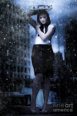 Metaphor Photograph - Business Storm by Jorgo Photography - Wall Art Gallery