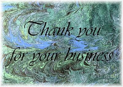 Target Threshold Nature - Business Thanks by Barbie Corbett-Newmin