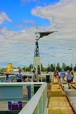 Busselton Photograph - Busselton Jetty by Cassandra Buckley