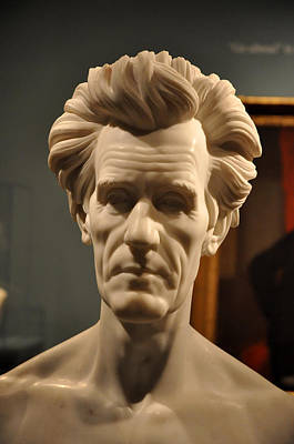 Photograph - Bust Of Andrew Jackson by Teresa Blanton