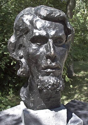 Sculpture - Bust Of Unknown by Michael Rutland