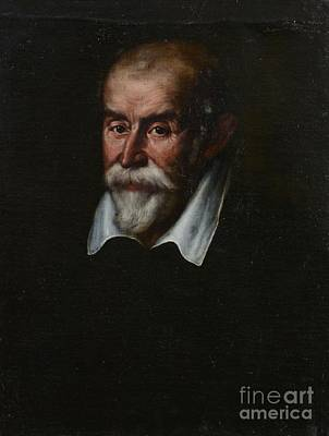 Old Man Painting - Bust Portrait Of A Gentleman by MotionAge Designs