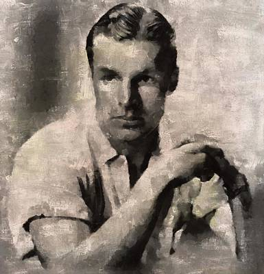 Buster Crabbe, Actor Art Print by Mary Bassett