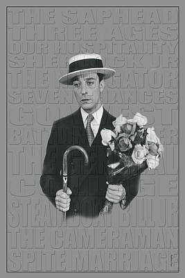Photograph - Buster Keaton by Andrew Fare