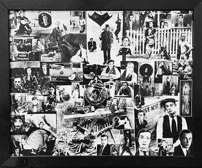 Keaton Digital Art - Buster Keaton  by Sheridee Hopper